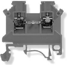 Simet Złączka szynowa ZSG 1-4.0Ns 2-przewodowa 4mm2 szara (11321312)