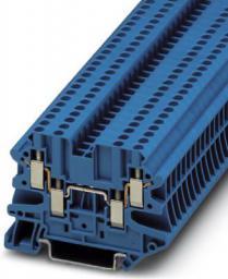 Phoenix Contact Złączka szynowa 4-przewodowa 2,5mm2 Ex UT 2,5-QUATTRO B niebieski opakowanie 50szt. (3044555)