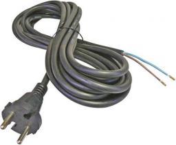 Kabel zasilający Goobay Przewód przyłączeniowy Schuko type F, CEE 7/7 2m H05VV-F 3G1 (50083)