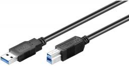 Adapter USB Goobay Przewód adapter USB 3.0 SuperSpeed 3m USB-A - USB-B (93654)