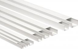 Organizer Elettrocanali Kanał kablowy z pokrywą CP 80 x 40mm biały 2m (ECCP8040B)