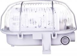 Lena Lighting Plafoniera 1x 60W E27 IIkl. 230V IP44 OVAL 60 SIMETAL 2 (121173)