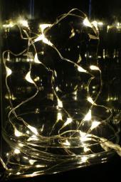 Lampki choinkowe Bulinex LED biały ciepły  (10-048)