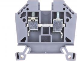 EM GROUP Złączka szynowa EURO 2-przewodowa 2,5mm2 szara (43408)