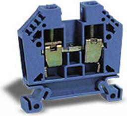 EM GROUP Złączka szynowa EURO 2-przewodowa 2,5mm2 niebieska (43408BL)