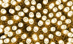 Lampki choinkowe Bulinex LED na kabel biały ciepły możliwość łączenia 100szt. (20-188)