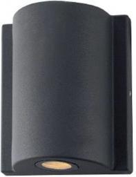 SUN ELECTRO Kinkiet zewnętrzny obudowa z odlewanego aluminium szklany dyfuzor 3W 4000K 120lm IP54 (LP-14-011)