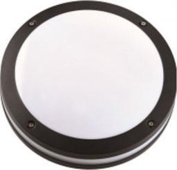 Sun Electro Plafoniera zewnętrzna obudowa z odlewanego aluminium klosz mleczny PC bez źródła światła IP54 (LP-14-054)