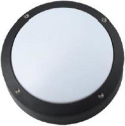 SUN ELECTRO Plafoniera zewnętrzna obudowa z odlewanego aluminium klosz mleczny PC bez źródła światła IP54 (LP-14-058)