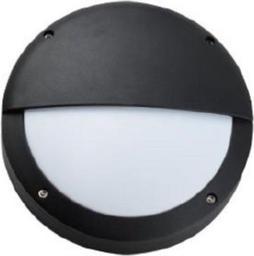 SUN ELECTRO Plafoniera zewnętrzna obudowa z odlewanego aluminium klosz mleczny PC bez źródła światła IP54 (LP-14-060)