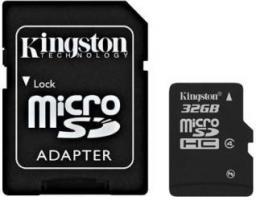 Karta MicroSD Kingston 32GB (SDC4/32GB)