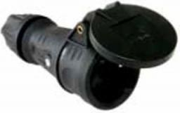PCE Gniazdo przenośne gumowe 10/16A 2P+Z 230V IP44 w pełni gumowe TOP TAURUS (25622-SS)