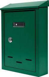 Skrzynka na listy zielona 285 x 200 x 60mm (78543)