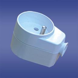 Elektro-Plast Gniazdo wtyczkowe 16A 2P+Z 230V IP20 AWA-GK biały (51.40)