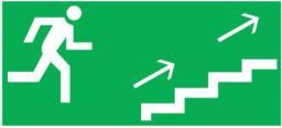 AWEX Piktogram Schodami na prawo w górę 125 x 250mm (PS10)