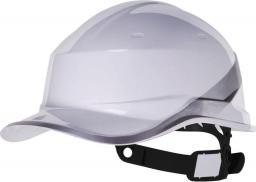 DELTA PLUS Kask budowlany Beseball Diamond V z ABS regulowany biały (DIAM5BCFL)
