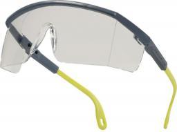 DELTA PLUS Okulary ochronne Kilimandjaro Clear z poliwęglanu jednoczęściowe bezbarwne (KILIMGRIN)