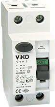 VIKO Wyłącznik różnicowoprądowy 2P 25A 0,03mA typ AC RCCB (vtr2-2530)