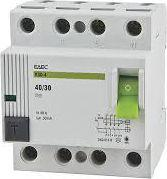 VIKO Wyłącznik różnicowoprądowy 4P 40A 0,03mA typ AC RCCB (vtr4-4030)