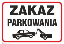 ANRO Tabliczka Zakaz parkowania (89/L/P)