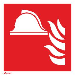 ANRO Tabliczka Zestaw sprzętu ochrony przeciwpożarowej 150 x 150mm (IFF/FS)