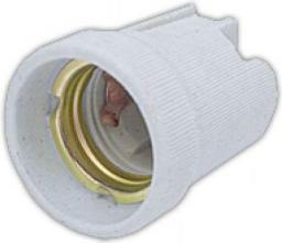 GTV Oprawka ceramiczna E27 biała (AE-OCEE27-00)