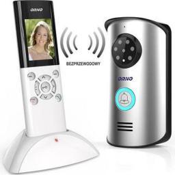 Orno Zestaw wideodomofonowy bezprzewodowy 2,4cala pamięć n/t IP55 HABEO MEMO