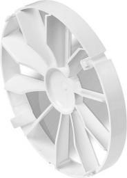 AWENTA Zawór zwrotny wentylatora biały 100mm (ZZ100)