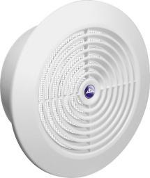 AWENTA Kratka wentylacyjna sufitowa biała z siatką 100mm (T64)