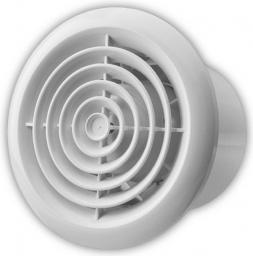 Vents Wentylator sufitowy okrągły fi 100 14W 34dB biały (100PF)