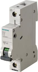 Siemens Wyłącznik nadprądowy 1P B 10A 6kA (5SL61106)