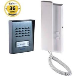 Orno Zestaw domofonowy jednorodzinny, 2-żyłowy n/t SAGITTA (OR-DOM-SG-918)