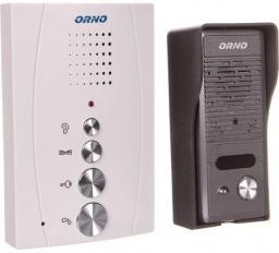 Orno Zestaw domofonowy jednorodzinny bezsłuchawkowy ELUVIO czarny