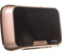 Orno Elektroniczny wizjer do drzwi 3,2cala z szerokokątnym obiektywem złoty (OR-WIZ-1104/C)