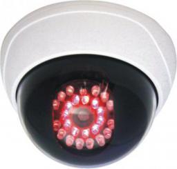 Orno Atrapa kamery monitorującej CCTV z diodami podczerwieni biała (OR-AK-1202)