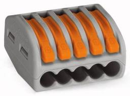 ELS Szybkozłączka 2x 0,75-2,5mm2 z dźwigniami zwalniającymi (ZL2)