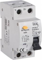 Kanlux Wyłącznik różnicowo-nadprądowy 2P B 6A 0,03A typ AC KRO6-2/B6/30 (23220)