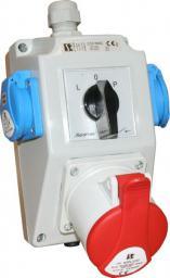 Spamel Zestaw instalacyjny z gniazdem 16A 3P+N+PE 2x2P+P (ZI04R221)