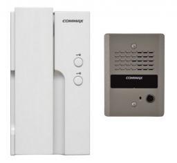 Commax Zestaw domofonowy jednoabonentowy unifon zasilanie 230V (DP-2HPR/DR-2GN)