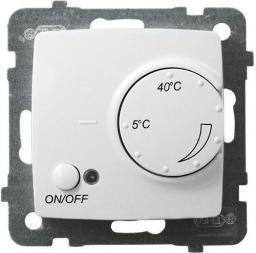 Ospel KARO Regulator temperatury czujnik napowietrzny biały (RTP-1SN/m/00)