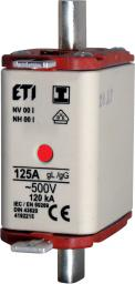 Eti-Polam Wkładka bezpiecznikowa KOMBI NH00 125A gG/gL 500V WT-00 (004182215)