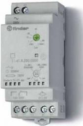 Finder Wyłącznik zmierzchowy 1P 16A 230V AC 35mm IP20 czujnik zewnętrzny IP54 1-80lx (11.41.8.230.0000)