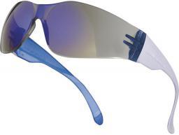 DELTA PLUS Okulary ochronne z poliwęglanu przydymione odblaskowe UV400 (BRAV2FF)