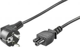 Kabel zasilający Goobay Przewód zasilający Schuko C5 1.8m czarny (68004)
