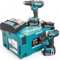 Makita Zestaw Combo 18V DTD152 + DDF482 + 3 x akumulator 5Ah (DLX2127TJ1)