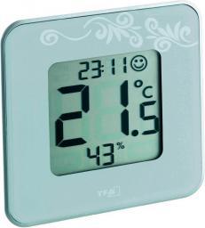 Stacja pogodowa TFA Cyfrowy termometr / higrometr od -20 do +50°C wilgotność 20 - 90% bateria CR 2032 (30.5021.02)