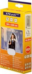 Bros Moskitiera na drzwi 140x220 czarna (BRO000042)