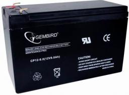 Gembird Akumulator żelowy uniwersalny 12V 9Ah (BAT-12V9AH)