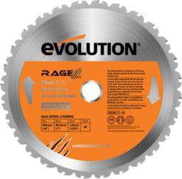 Evolution Piła widiowa TCT wielozadaniowa RAGE 355mm 36z (EVO-355-MULTI)