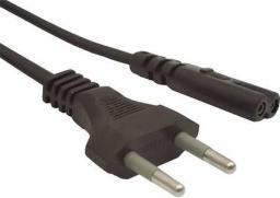 Kabel zasilający Gembird Kabel zasilający EURO (radiowy) CEE 7/16 IEC 320 C7 1.8m (Z04391)
